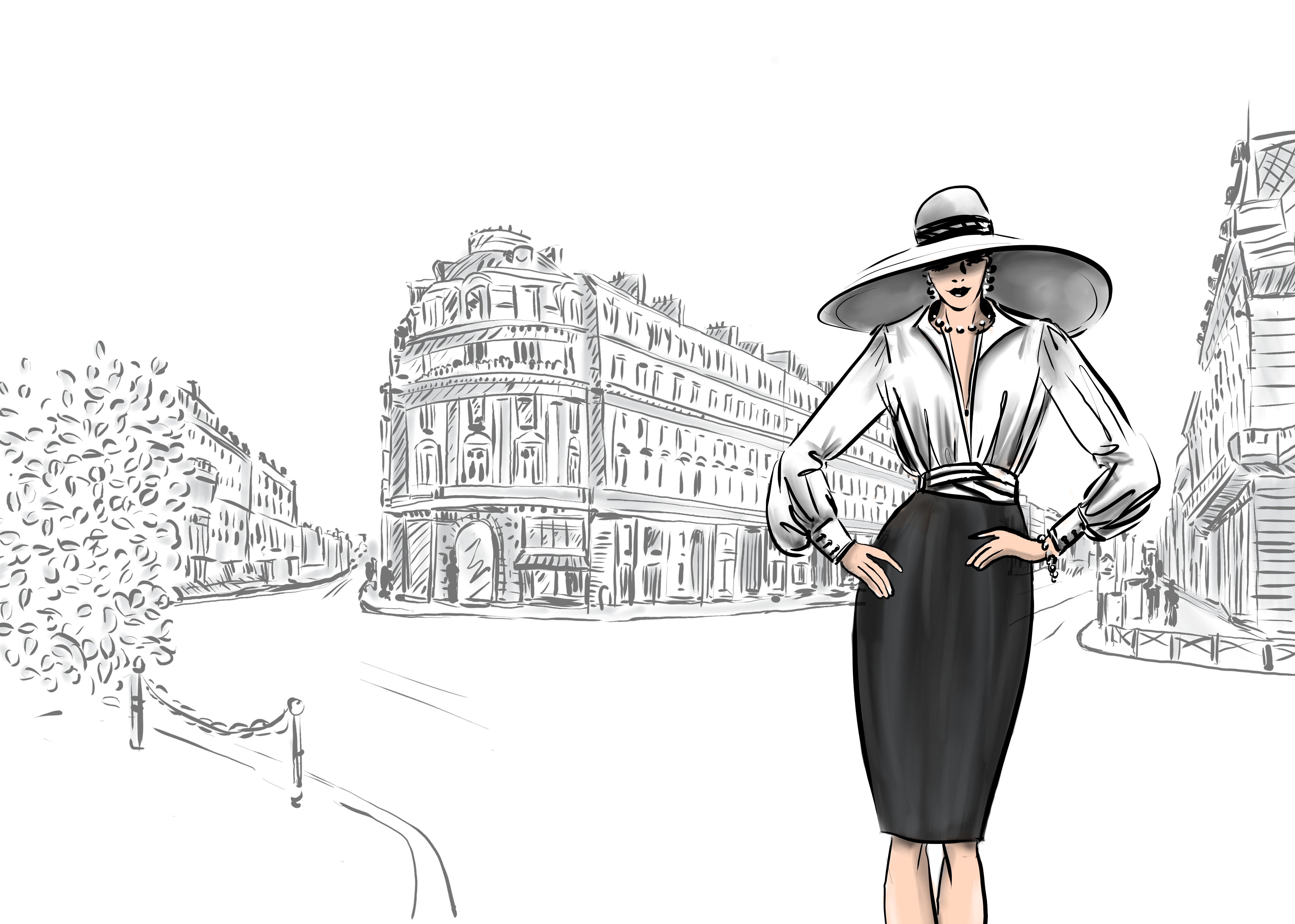 ILNI, illustrated by Linda Zoon, Augustina, Streetview, Faux-Leather Bags